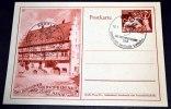 """Goldschmiedehaus Hanau, GA Mit 2 SST. Von """"Breslau Tag Der Briefmarke ..."""" - Briefe U. Dokumente"""