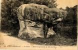 CPA 77 Seine Et Marne Forêt De Fontainebleau Désert D'Apremont La Tête De Chien - Fontainebleau