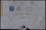 1860 LETTRE TIMBREE DU MONASTERE DE MAUBEC ( MONTELIMART ) RAPPEL COMMANDE DE PIERRES AU CARRIERES DE Ste JUSTE !! - Documents Historiques