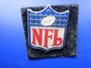 "Un Insigne De Type Pin's : "" NFL ""National Football League Current Season Or Competition:football Américain - Football - NFL"