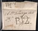 PREFILATELIA, AÑO 1818, MOTRIL/ANDALUCIA BAXA, MARCA Nº 3 EN COLOR ROJO - ...-1850 Vorphilatelie