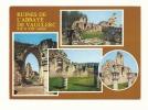 Cp, 02, Vauclerc, Les Ruines De L'Abbaye, Multi-Vues, Voyagée 1989 - France
