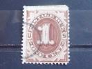 US Postage Due Stamp #J1 Used F - Postage Due