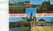 CPSM -  63 - SAINT-ELOY-LES-MINES - Multivues - 048 - Saint Eloy Les Mines