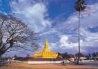 LAOS - AK 107349 Vientiane - Pha That Luang - Laos