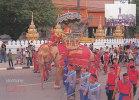 LAOS - AK 107365 Vientiane - The Celebration Parade Of King Fa Ngum The Great - Laos