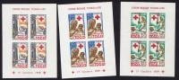 1959  Croix Rouge Togolaise  Blocs Feuillets De 4 Timbres NON DeNTELÉS ** - Togo (1960-...)