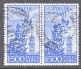 Italy C 134 X 2  (o)   Wmk. Stars - 1900-44 Vittorio Emanuele III