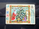 Jersey - 2006 - Mi.nr.1155 III - Used - Christmas - Santa  Claus, Christmas Tree, Children -  Self-adhesive - Jersey