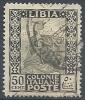 1924-29 LIBIA USATO PITTORICA 50 CENT - RR10103-4 - Libya