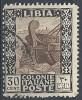 1924-29 LIBIA USATO PITTORICA 30 CENT - RR10103-4 - Libya