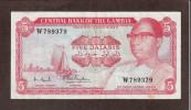 GAMBIA - 5 DALASIS 1972-86 - Gambia