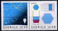 Europa 2009 - Suède Paire De Carnet - Pair From Booklet ** - Europa-CEPT