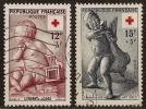 FRANCE 1955  YT 1048/1049 Oblitérés, Croix Rouge - Francia
