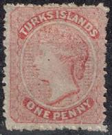 Turks Et Caicos - 1867 - Y&T N° 1, Neuf Sans Gomme - Turks & Caicos