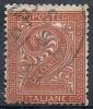 1863-65 REGNO USATO CIFRA 2 CENT - RR10035 - 1861-78 Vittorio Emanuele II