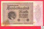 Germany 100000 Mark  1923  Banknote / Allemagne  Billet - Papier Monnaie - [ 3] 1918-1933 : République De Weimar