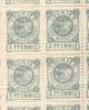 COURIER PRIVAT ESSEN 1897 RAPACES PRIVAT BRIEFBEFORDERC MICHEL 5 POSTE LOCAL COURIER D´ESSEN(B) HERALDIQUE HERALDICA RAP - Sello Particular