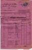 Lettre De Voiture  CANTON DE GENEVE  1893 - Marcophilie