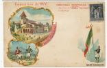 Expo Universelle Paris 1900 Pavillon Bosnie Herzegovine  Pub Chicorée Casiez Cambrai - Bosnie-Herzegovine