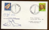 ANTARCTIC Station Base Campbell Pole Mail Used Cover New Zealand Bird Walrus Signature - Unclassified
