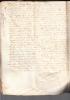 Très Vieux  Parchemin De 1641 Format 41 X 28 Cm à Identifier ?? à Tous Ceux ? ( Scanné En 2 Fois + Le Dos - Documents Historiques