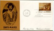 FIRST DAY OF ISSUE/JOUR D`EMISSION PAUL KANE 1810  1871  PAITER     OTTAWA  ONTARIO  CANADA  1971  OHL - First Day Covers