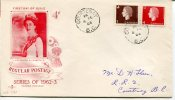 FIRST DAY OF ISSUE/JOUR D`EMISSION REGULAR POSTAGE  SEREIS OF 1962-3 COURTENAY  CANADA      1963  OHL - First Day Covers
