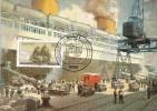2640. Tarjeta Maxima BONN  1983 (Alemania). Ship. Correo Maritimo. Barco Post - [7] República Federal