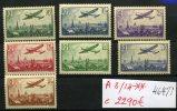 Superbe Série Avions 8/14**   Cote 2290 E - 1927-1959 Nuevos