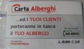 TELECOM-CARTA ALBERGHI-NUOVA SIGILLATA - [2] Tarjetas Móviles, Prepagadas & Recargos