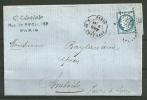 N° 60A    - 16 D3 - Oblitéré  ETOILE 17 - 1871-1875 Ceres