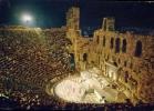 Athens - Das Odeon Das Herodes Atticus - Viaggiata Formato Grande - Grecia