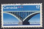 Canada ~ 1977 ~ Peace Bridge ~ SG 891 ~ Used - 1952-.... Regno Di Elizabeth II