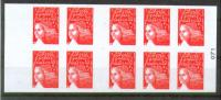 France. Marianne. 1997. MNH Self-Adhesive Booklet. SCV = 14.00 - Usage Courant