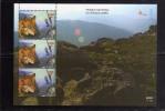 PORTOGALLO - PORTUGAL 1999 - EUROPA PARCO NAZIONALE FOGLIETTO - NATIONAL PARK SOUVENIR SHEET -  PARQUE PENEDA BLOCO MNH - Blocks & Kleinbögen