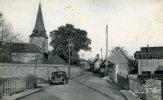 27-FRANCHEVILLE..ROUTE DE BOURTH AVEC VOITURE...CPSM PETIT FORMAT - Autres Communes