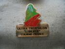 "Pin´s Ultra Triathlon ""Liberté"" De COLMAR - Biathlon"