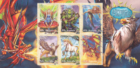Australia-2011 Mythical Creatures Souvenir Sheet MNH - Sheets, Plate Blocks &  Multiples