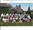 """CPSM De DOMPIERRE Sur BESBRE (03)  - """" Le Groupe Senior""""  De L´ Accordéon Club Dompierrois   //  TBE - Autres Communes"""