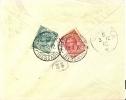 Guerra Italo-Turca 1912 Busta Viaggiata Da Posta Militare Bengasi Per Vicenza Affrancatura Al Retro C. 5 + C. 10 Leoni - Militaria