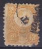 HONGARIJE - Michel - 1871 - Nr 1b - Gest/Obl/Us - Ungheria