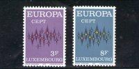 LUSSEMBURGO 1972 ** - Europa-CEPT