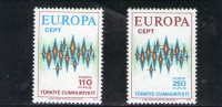 TURCHIA 1972 ** - Europa-CEPT