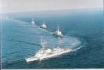 """### Carte à 2 Volets De La Frégate Marine Nationale """"La Motte-Picquet"""" Lors D´une Revue Maritime - Boats"""
