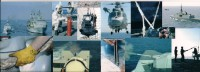 """### Frégate Lance Missiles Marine Nationale """"Guépratte"""" , Divers Exercices à La Mer - Boten"""