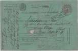 6570# HONGRIE MANDAT POSTA UTALVANY POST ANWEISUNG Obl POZSONY 1871 BRATISLAVA PRESBOURG SLOVAQUIE MAGYAR Pour PEST - Covers & Documents