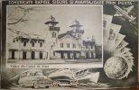 Salutari CURTEA De ARGES 1950, GARA, Bahnhof, Comunicatii Prin POSTA, Unused Postcard - Romania