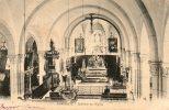 CORCIEUX Intérieur De L'église Dos Non Divisé Cliché Antéireur à 1903 Voyagée Timbrée En 1905 - Corcieux