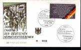 """1990 German FDC """"German Refugees"""" With Bonn Cancel - [7] Federal Republic"""